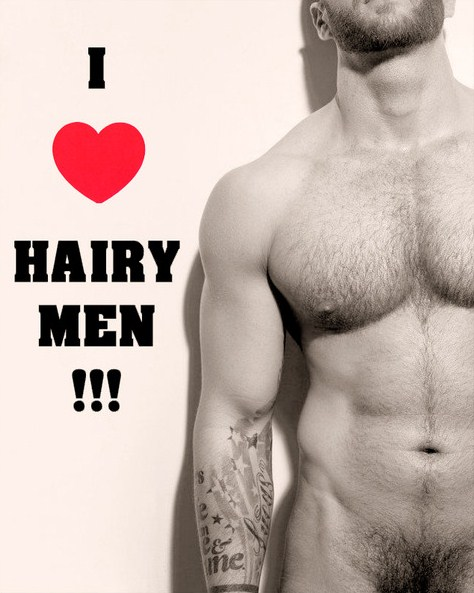 Hairy men I love