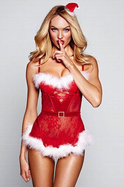 Sexy Santa Woman