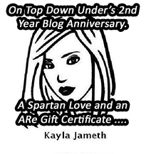 Kayla Jameth – A Spartan Love and an ARe Gift Certificate