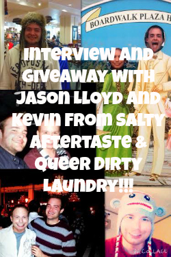 Jason Lloyd: Salty Aftertaste, Queer Dirty Laundry Interview & Giveaway