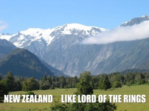 New Zealand, Like Lord of the Rings