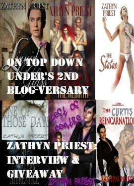 Zathyn Priest: Interview & Giveaway