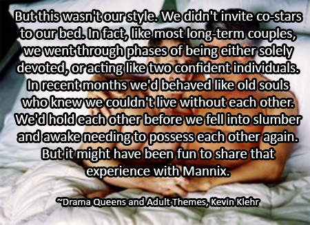 Drama Queens and adult themes quote 2
