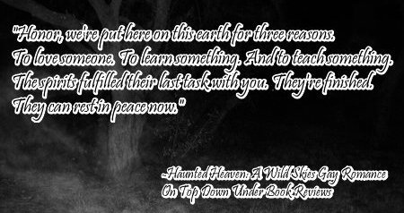 Haunted Heaven 2nd Quote