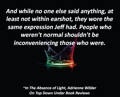 In The Absence of Light Quote 8
