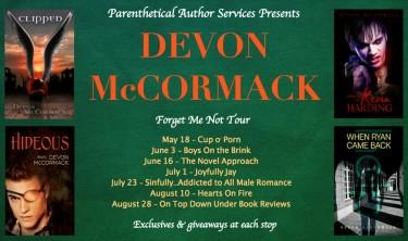 Devon McCormack: Forget Me Not Blog Tour & Giveaway