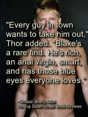 Unsaid Blond Guy Quote