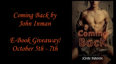 Giveaway: Coming Back by John Inman