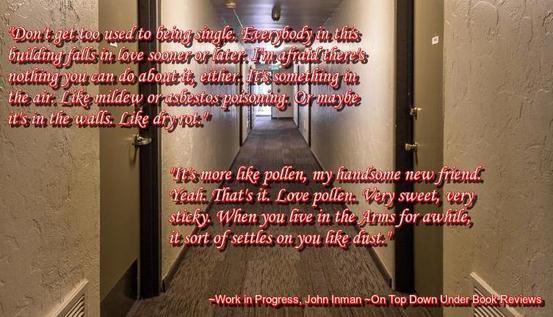 Work in Progress Better Hallway Quote