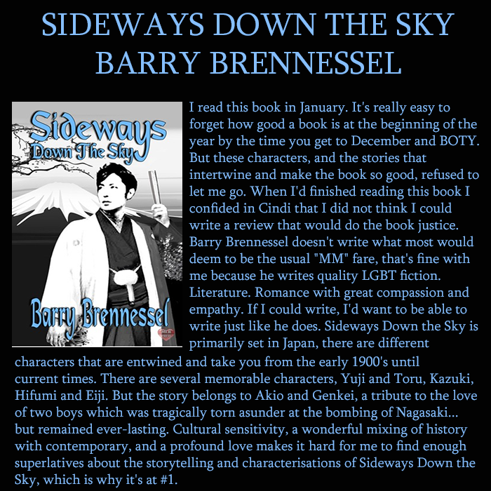 Sideways Down The Sky - BOTY Edition 3