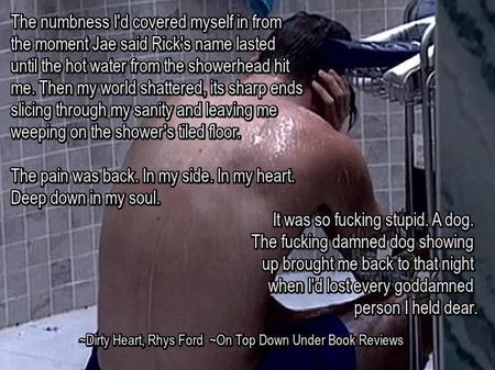 Dirty Heart Shower Quote