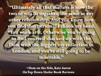 Dom on the Side Quote 3