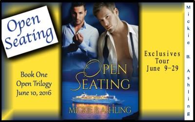 Mickie B. Ashling: Open Seating Exclusives Blog Tour & Giveaway