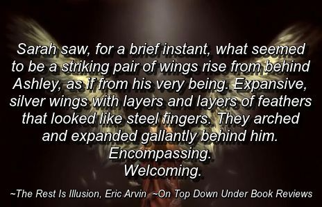 Illusion - Angel Wings Quote